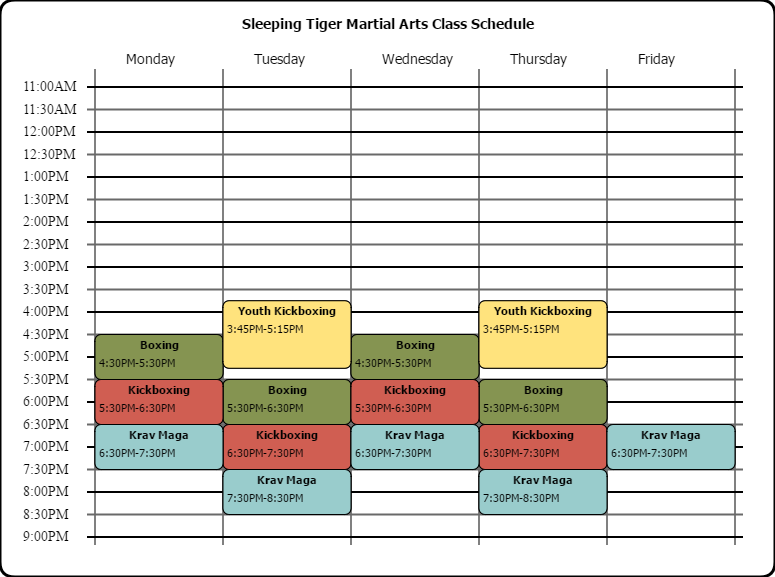stfma schedule 2